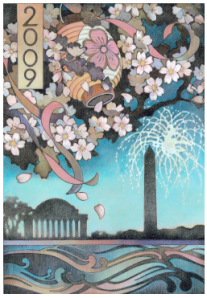 2009 Cherry Blossom Festival Artwork
