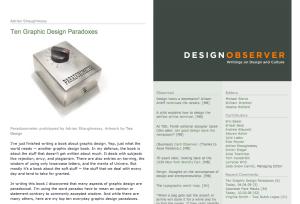 DesignObserver.com