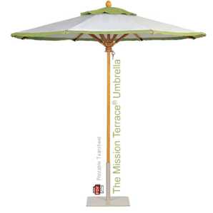 The Mission Terrace Umbrella