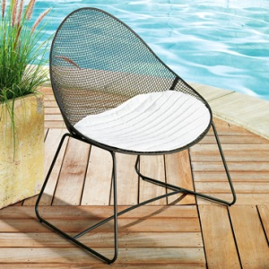 Metal Mesh Lounge by West Elm