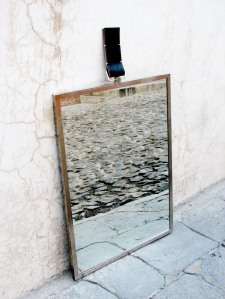 Simple Mirror with Strap