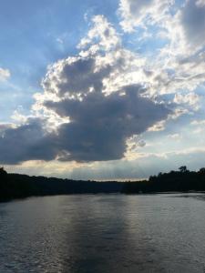 A DC summer sky.