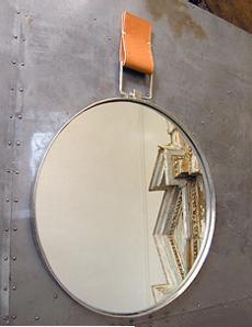 Altavista Round Mirror