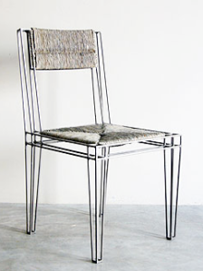 St. Paul Side Chair in Paille