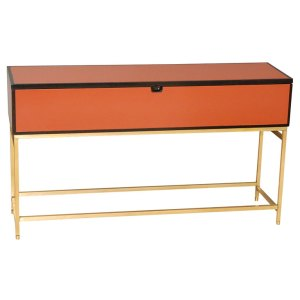 Hermes-like Orange Console