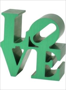 Love Replica in Green, $65 | Indianapolis Museum of Art