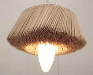 Pendant made with toothpicks | by Diasuke Hiraiwa