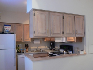 Kitchen Before | With Upper Cabinets