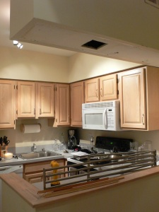Kitchen After Upper Cabinets Removed