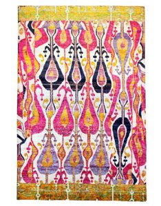 Haryana Ikat Rug | ABC Carpet
