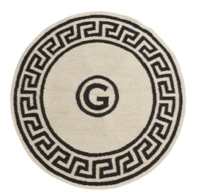 Round Greek Key Rug | Jonathan Adler
