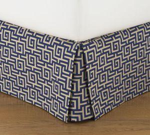 Sutter Jacquard Bed Skirt | Pottery Barn (on sale!!)