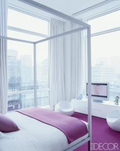 Morgan's amazing bedroom - sweet city vista!