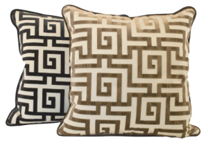 Greek Key Pillows | Jayson Home & Garden