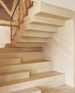 Wearstler designed these stairs. The funkiest I've seen in a while.