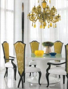 Christopher Guy Dining Room Chairs! Love to have breakfast there!