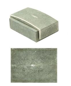Shagreen Desk Box, $125