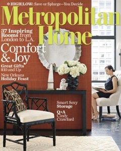 Met Home December Cover