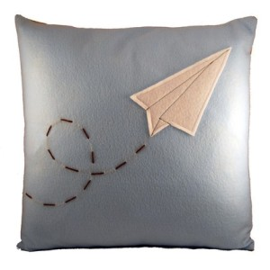 paper airplane pillow_etsy diffractionfiber oct09