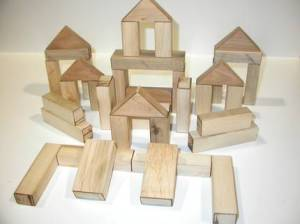 Solid Recycled Wood Toy Blocks Christopher H etsy