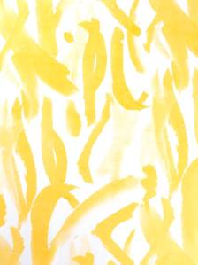Positano in Kumquat   Amanda Nisbett (fabric on silk)