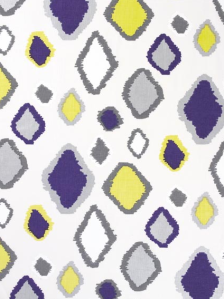 Francesca in Grape Fizz | Amanda Nisbett (fabric on oyster linen)