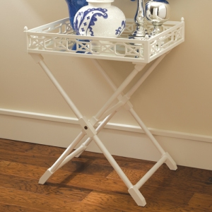 White Tray Table, $835  | Inside Avenue
