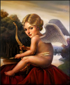 Cupid (Sold) from Sarah Bain Gallery