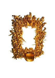 Gold Toy Mirror