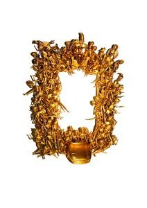 Gold Toy Mirror