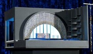 Scaled model of last nights Oscar set.