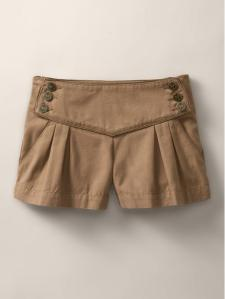 Pleated Sailor Shorts, $42