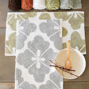 Organic Clover Bath Mat (now on sale)