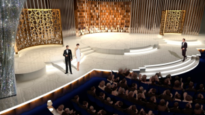 Rendnering for Oscar stage