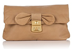MARC BY MARC JACOBS Pretty Nappa Linda Calfskin Clutch