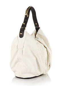 CC Skye Turner Python-Embossed Leather Hobo