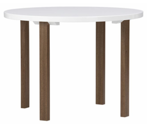 Delano Round Dining Table, $299 | Crate & Barrel