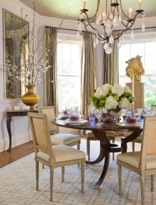 Dining Room by Basha White Interiors