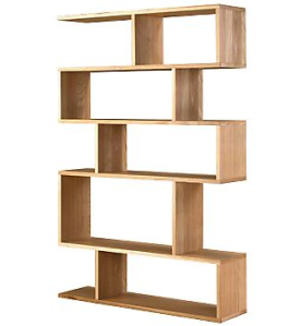 European Oak Shelving Unit