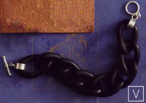 Ebony Chain Bracelet by Roost, Velocity A&D
