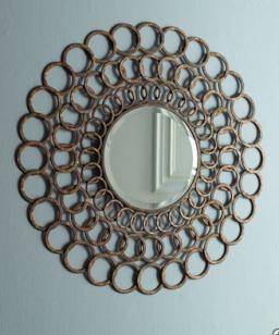 Bangle Mirror, Horchow