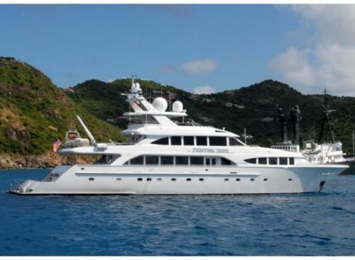 The Fighting Irish luxury vessel!