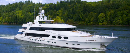 Casino Royale Yacht in all of her massive beauty!