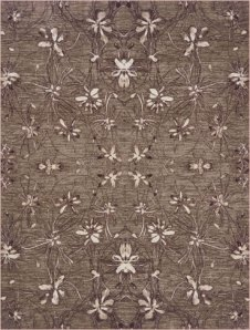 Sparkler Rug in Brown
