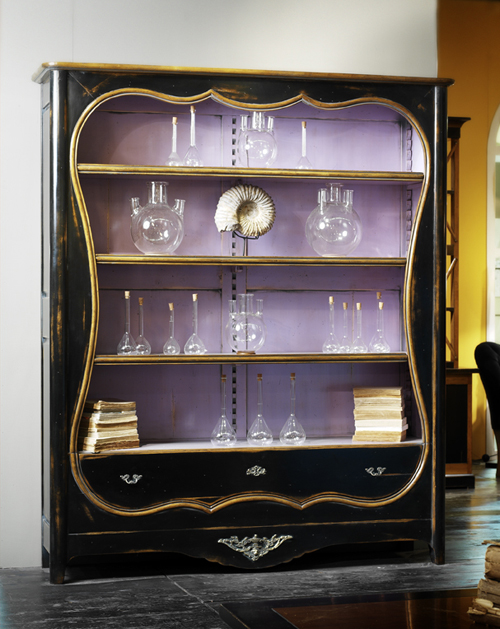 The French Petite Bookcase is stunning! and is available in a slew of finishes. $3,400