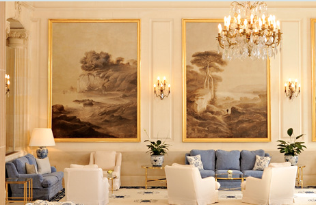 The beautiful Bellini lobby room.