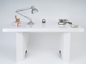 The Paperweight Desk at the Nigel Store