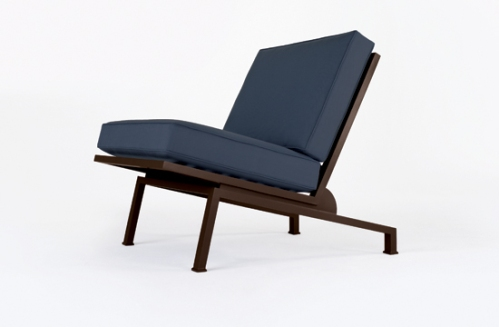 St Croix Armless Lounge Chair