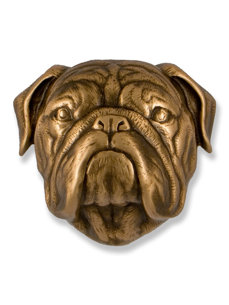 Bulldog Door Knocker, $100 (Love that face!)