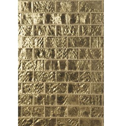 "Gilt Tile in 4"" x 8"" by Michael Smith   Ann Sacks"